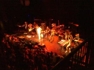 opening for BOOTSY at House of Blues Boston 2012